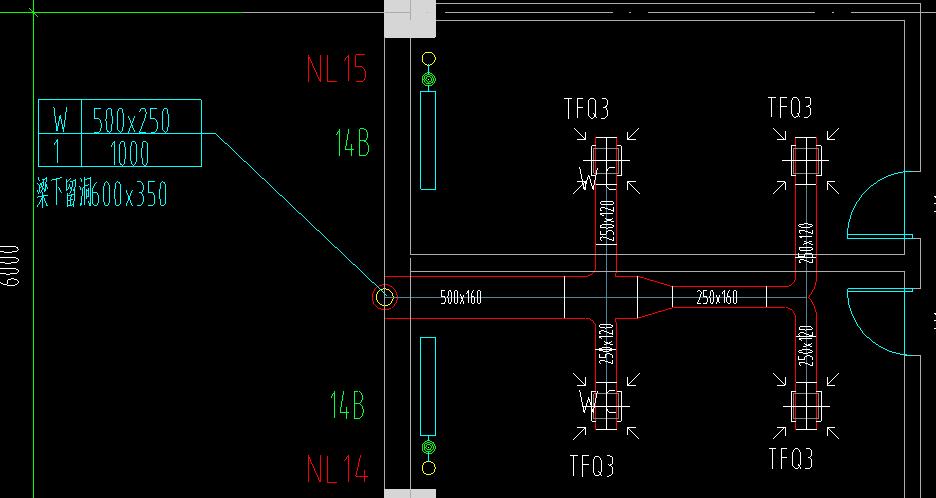 通风图纸中,TFQ3是彩电;W500*250那个表东芝SHSHSHSH99UHUH299UH图纸意思图片