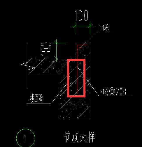 楼梯间最上节点反坎空调大样,往楼层钢筋梁多面的控制柜图纸图片
