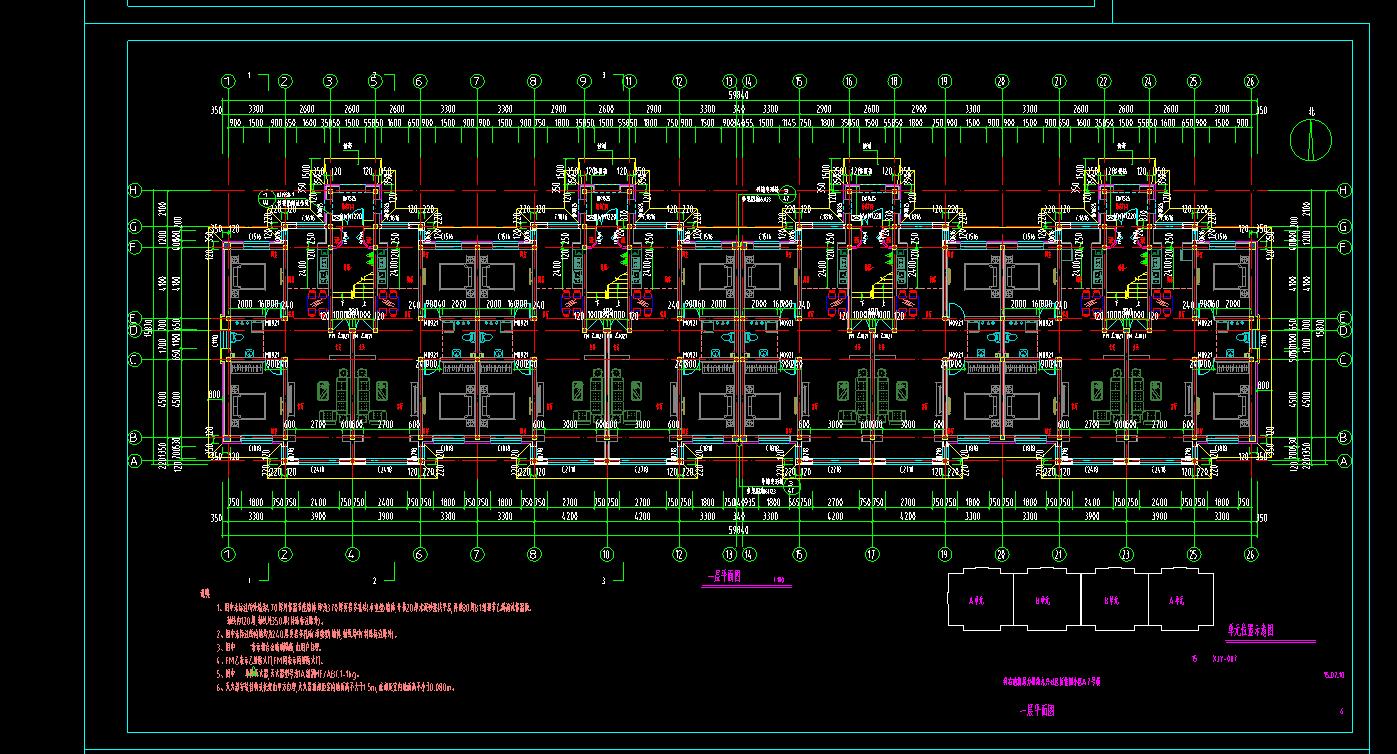 将CAD中的图导入到广联达钢筋算量中?C图测轴等正图纸的图片