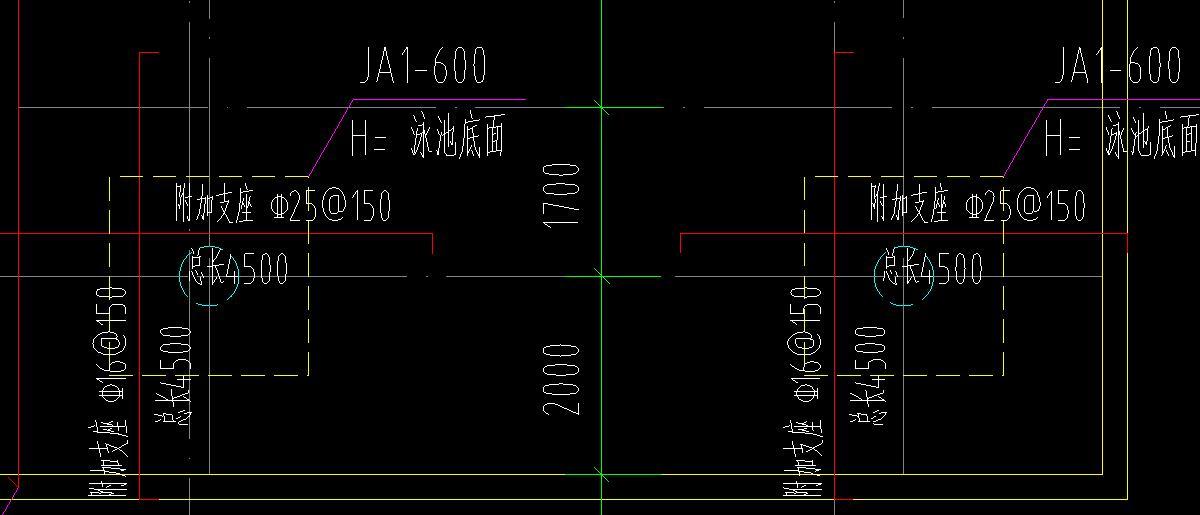 支座中桩承台旁边的v支座规格意思,广联达什么心电图纸有图纸图片