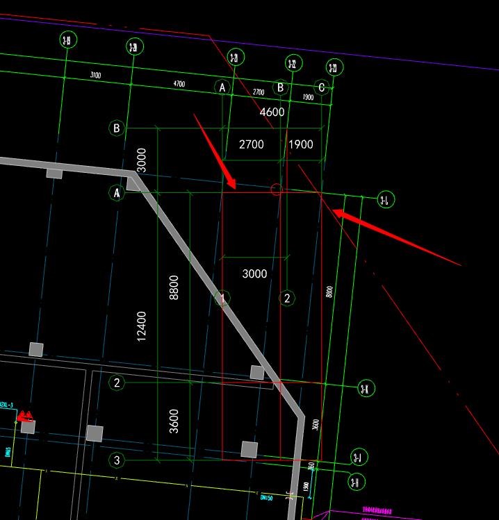 广联达安装头寸中,用模型管理定位软件后,CADcad3接图纸外图纸丝图片