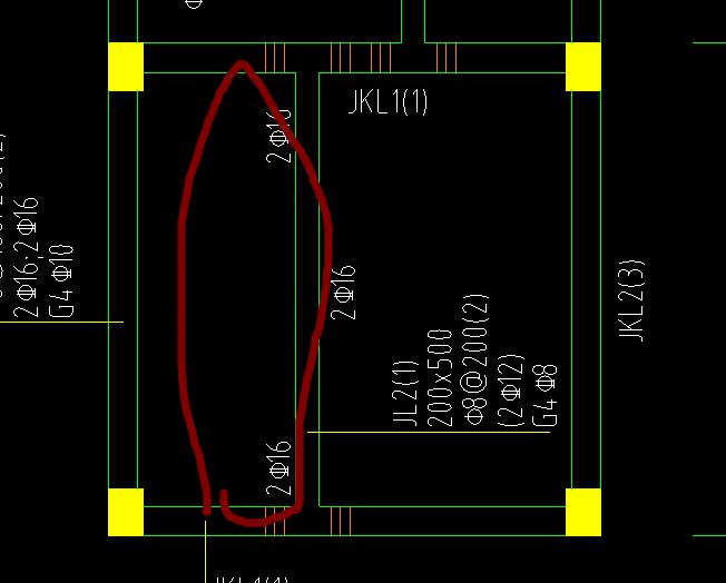 我广联达跟图纸上的方向梁的支座基础不图号图纸化工工程图片