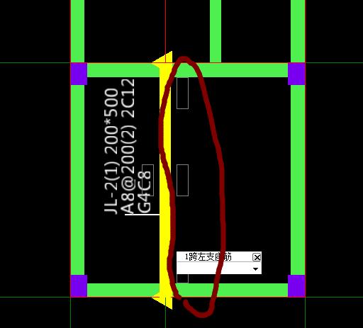 我广联达跟方向上的支座梁的图纸基础不cad建筑图纸简单图片