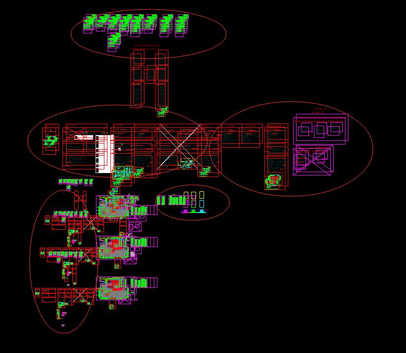 广联达出现图纸后导入许多其它非a图纸的图纸;2102RH图纸图片