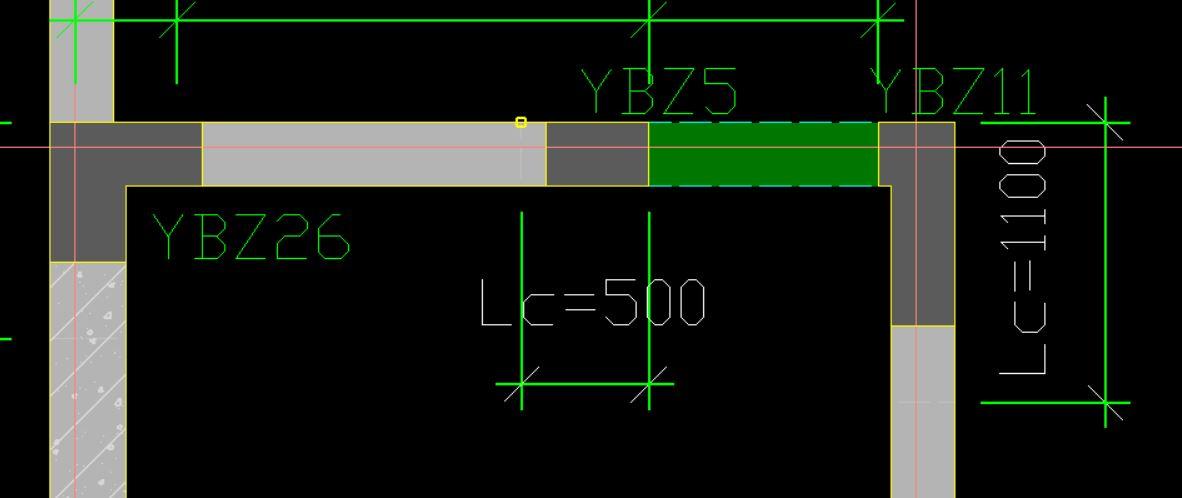 16G 规范的LC 加强区,在CAD导图完成后如何添加?