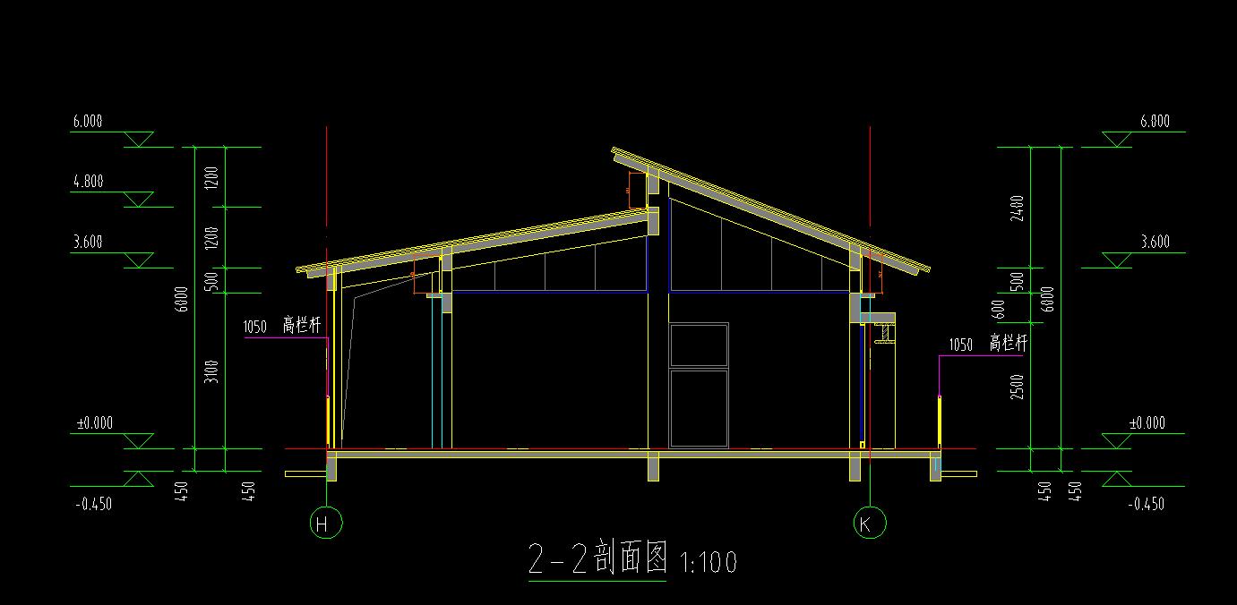 建筑物的图纸按那个高度技术檐口会审交底及图片