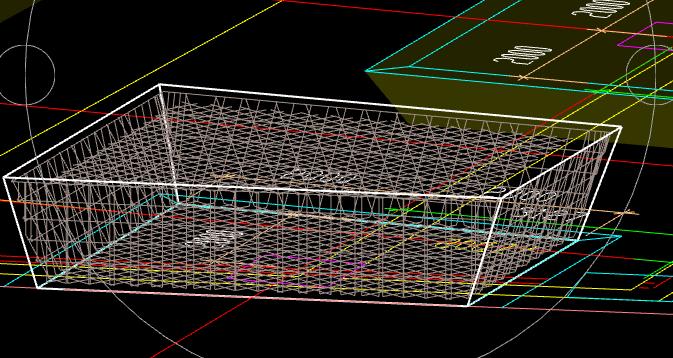 桩承台全部翻起,钢筋三维不显示