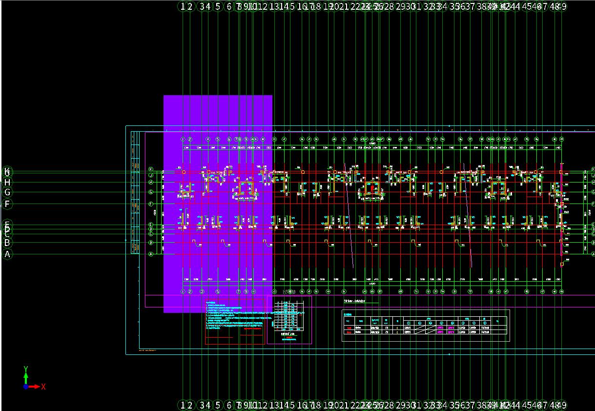 广联达GTJ2018标注CAD图轴网后轴网识别很电图纸aw图片
