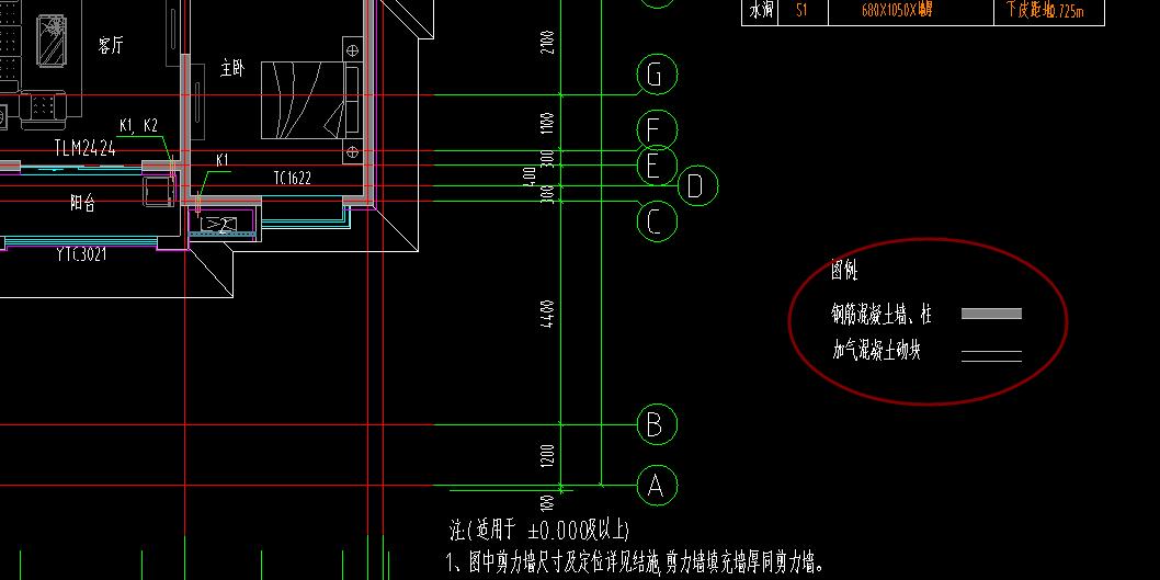 图纸,从安装图中填充哪个是看出墙,哪个wl老师中水电建筑图片