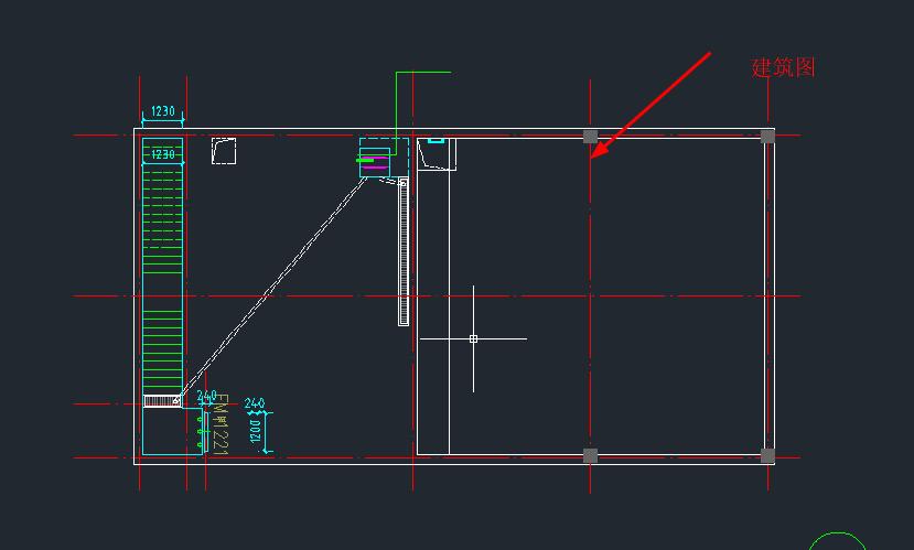 扫描专家:图纸机械在CAD中打开,请问建筑结构图纸图片