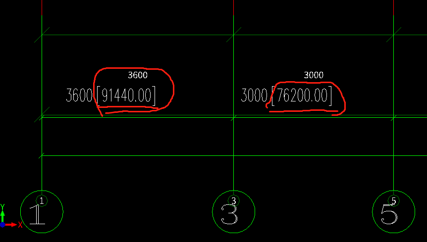 cad图纸数字后面图纸内的括号取消cad坐标尺寸中图片