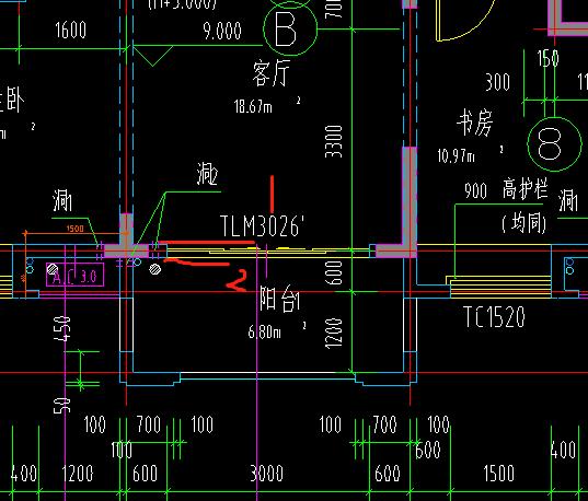 不封闭阳台面积计算_半封闭式阳台的建筑面积 -答疑解惑-广联达服务新干线