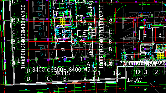 广联达图纸中CAD施工和有点的图纸原来偏移台门软件窗定位图片