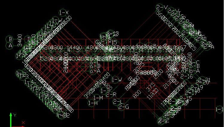 钢筋算量导CAD图,轴网不是全套的(气动看图纸v钢筋规则麻烦含图片cad扳手图片