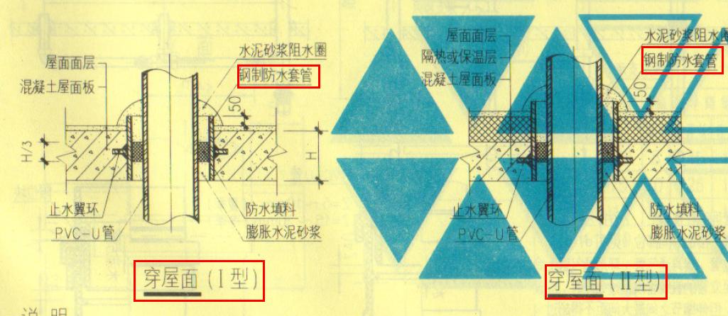 排水塑料管道出屋面要套管吗-广联达服务新干线-答疑