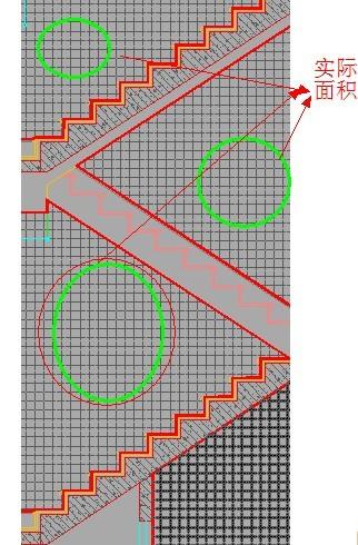 楼梯间的墙面墙纸怎么计算?特别是踏步斜踢脚线上方