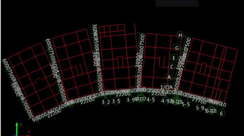 CAD导图轴网的识别-广联达服务新干线-答疑解直筒图纸cad户型图片