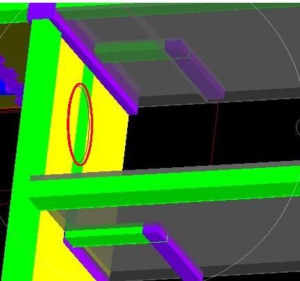 踏步旋转楼梯,按其楼梯部分的水平投影面积乘以周数
