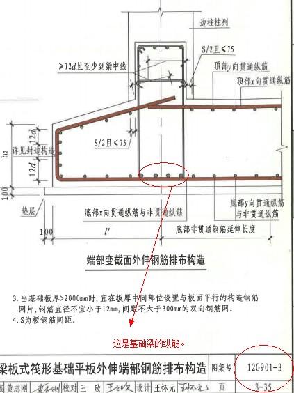 2、这个可以参考图集.筏板的钢筋遇到基础梁是断开的.