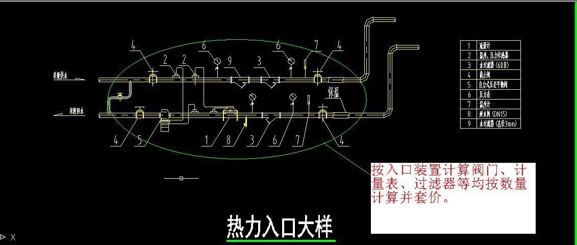 采暖热力入��f_采暖热力入口里的工程量需要计算.