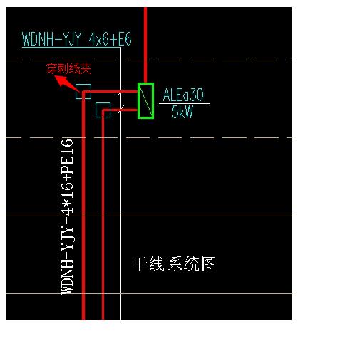 强电井里的应急照明干线-广联达服务新干线-答疑解惑