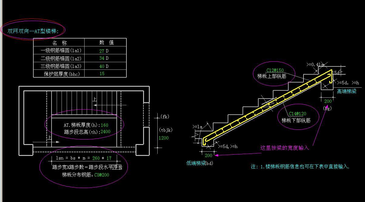 如何画楼梯