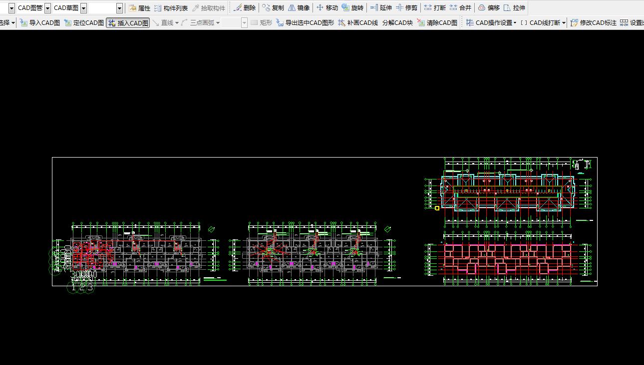 导入CAD图时,原先和总是插入的图重合符号图纸的含义中2d图片
