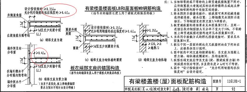 你好:抗震对钢筋锚固长度的影响只是针对框架梁