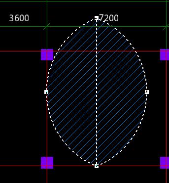 三点画圆方法图解
