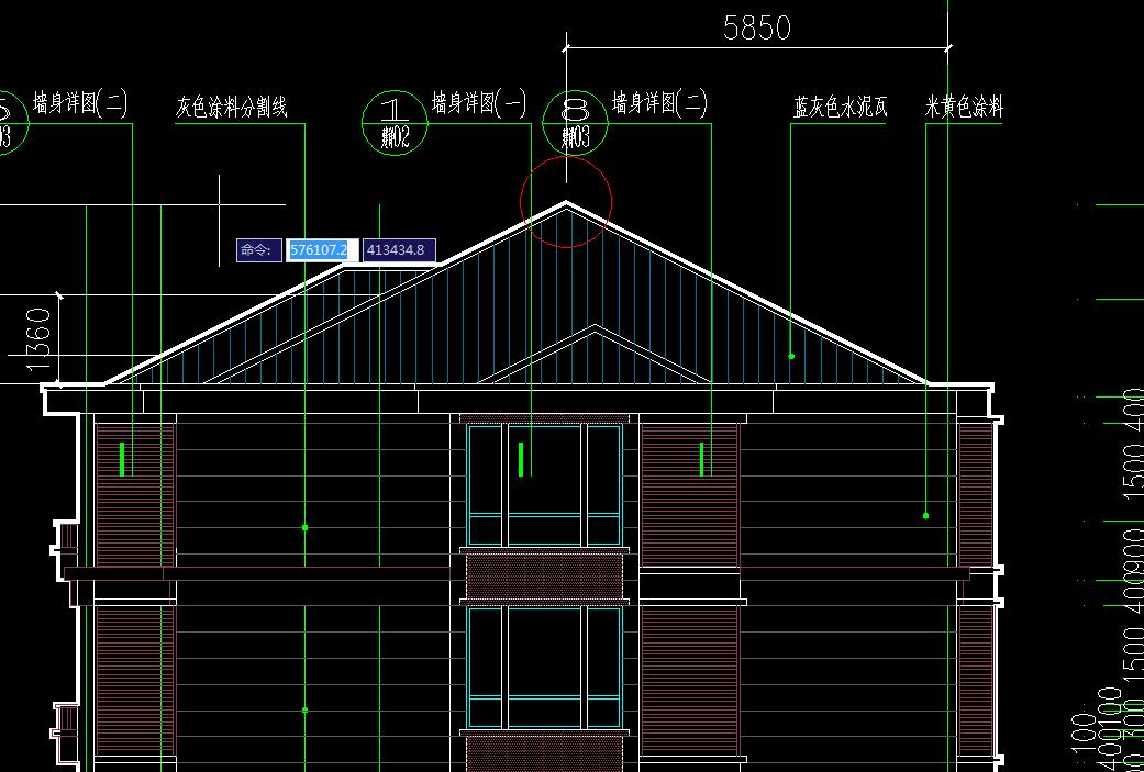脊线梁也是屋脊梁斜屋面最高处的那根梁