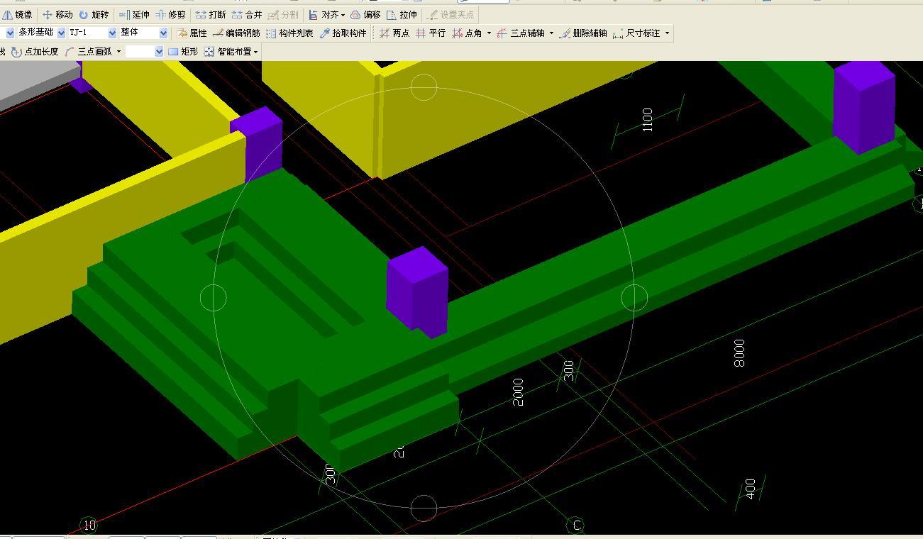 柱下独立基础与墙下条形基础的区别图片