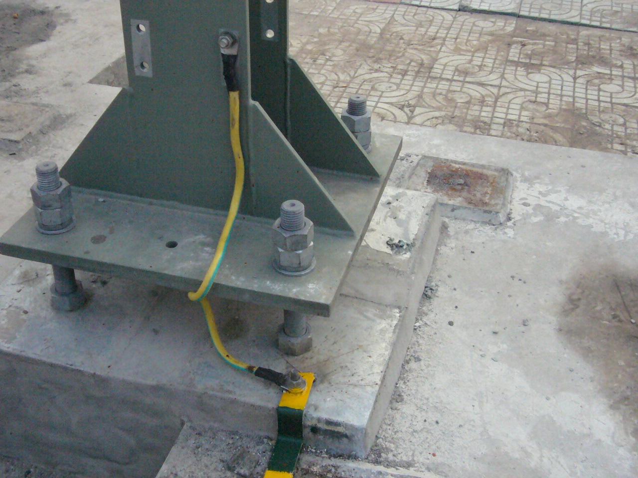 """防雷及接地装置中的""""接地跨接线安装"""""""
