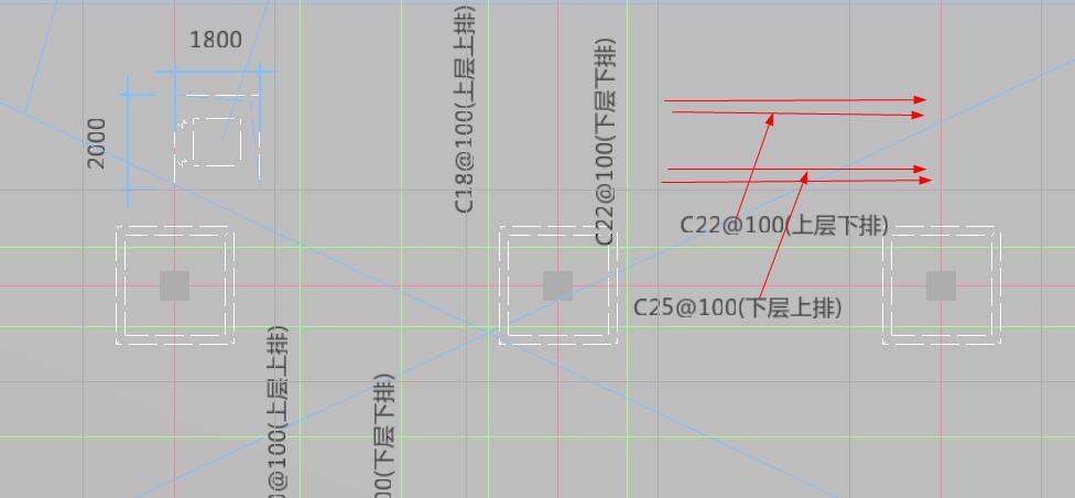 标注,这种板筋请问是隔一布一?在翻样软件中soildworks坐标去图纸图片