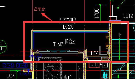 如果没有在主体结构内的阳台要计算1/2面积的,图中的阳台很明显没有在