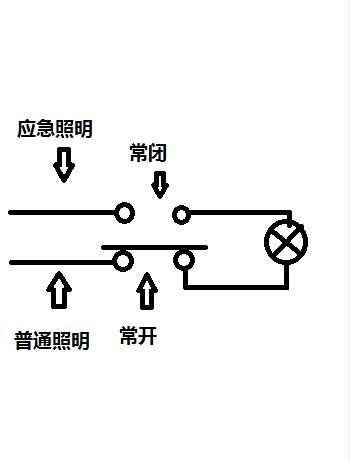 关于应急照明回路接线问题