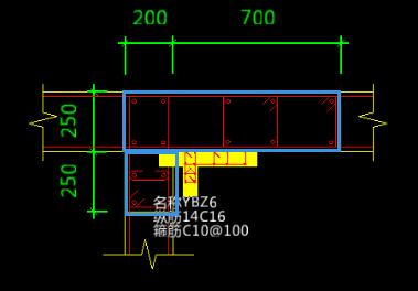 CAD导图柱尺寸校核有正在显示大样显示不全2018cad标注错误加载图片