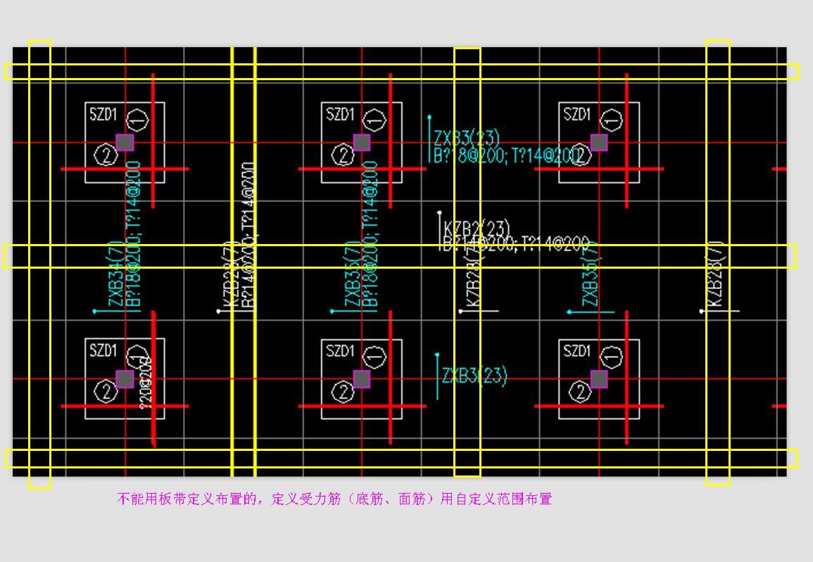 平板式筏形基础图片