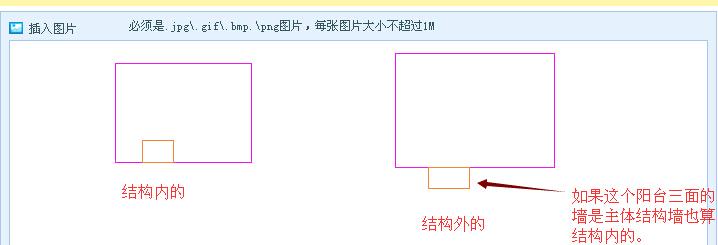 主体结构内和主体结构外阳台怎么区分-广联达服务新