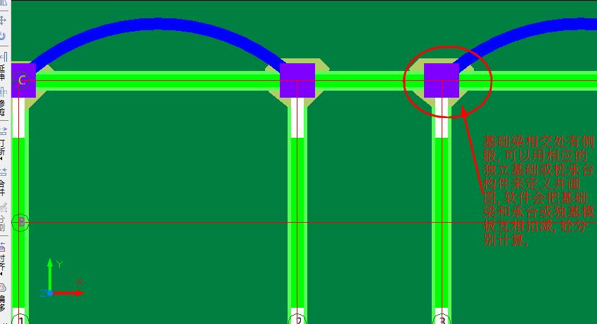 基础梁侧面加腋混凝土,模板工程量及钢筋量怎样快速计算?