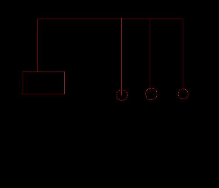新手,没接触过电气安装。求解答:一个回路中,3个普通插座高度均为1.3米,配电箱2.6米,电线沿顶板、墙面敷设,每个插座的电线竖直方向还要拉至顶板再拉到插座高度,还是从配电箱直接拉到插座高度,水平连接就可以了? --:电气管线禁止在墙上横着走,从箱子出来先到顶,在下反