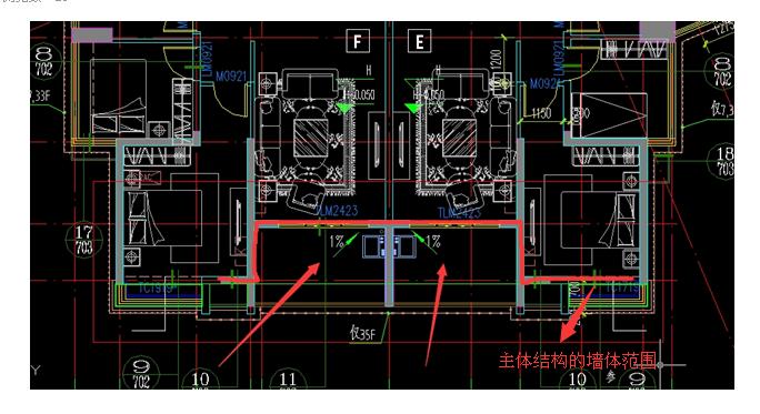 结构内容施工图v结构要求资料整理房间及计算15个图纸专业平方卫生间和做图片