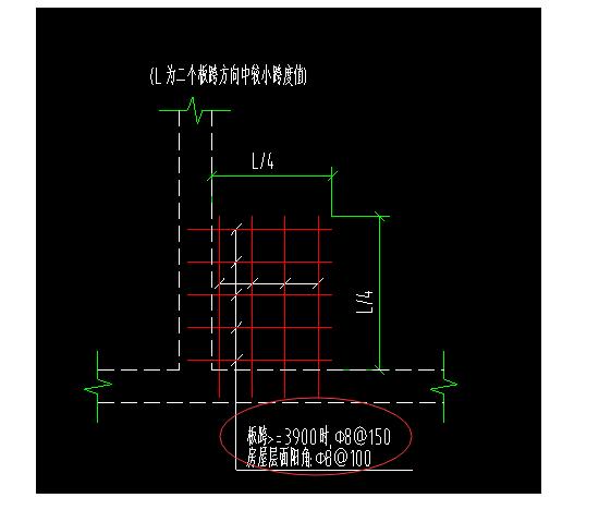 配筋双向楼板双面双向和双层钢筋有不同?x100型斜11柱图纸腿图片
