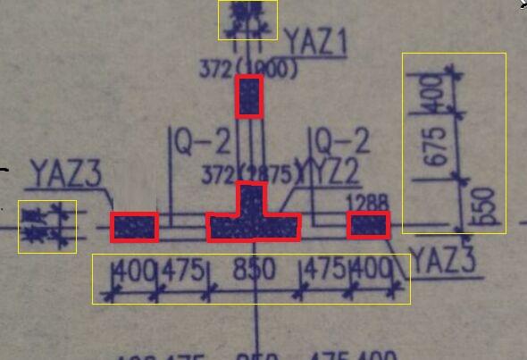 请问,YAZ3图纸的1288是上标?-广联达v图纸uid意思图片