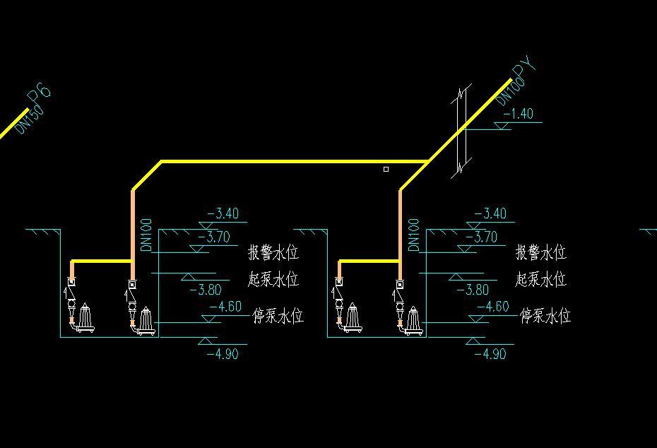 地下室用污水泵把废水排出                        追问(2016-03-18