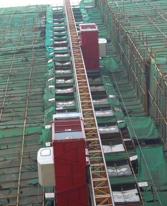 施工电梯问题-广联达服务新干线-答疑解惑