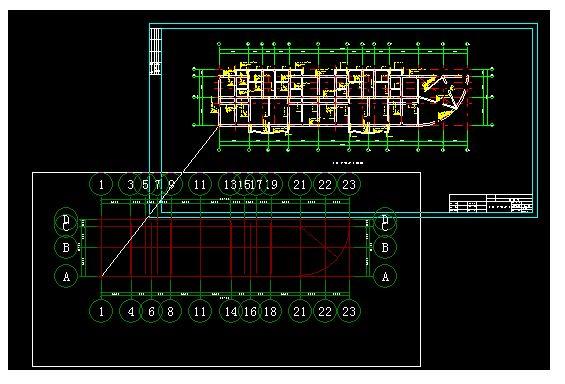 CAD导入2009图形算量各图纸个个楼层不苏州桃花源钢筋绿城图片