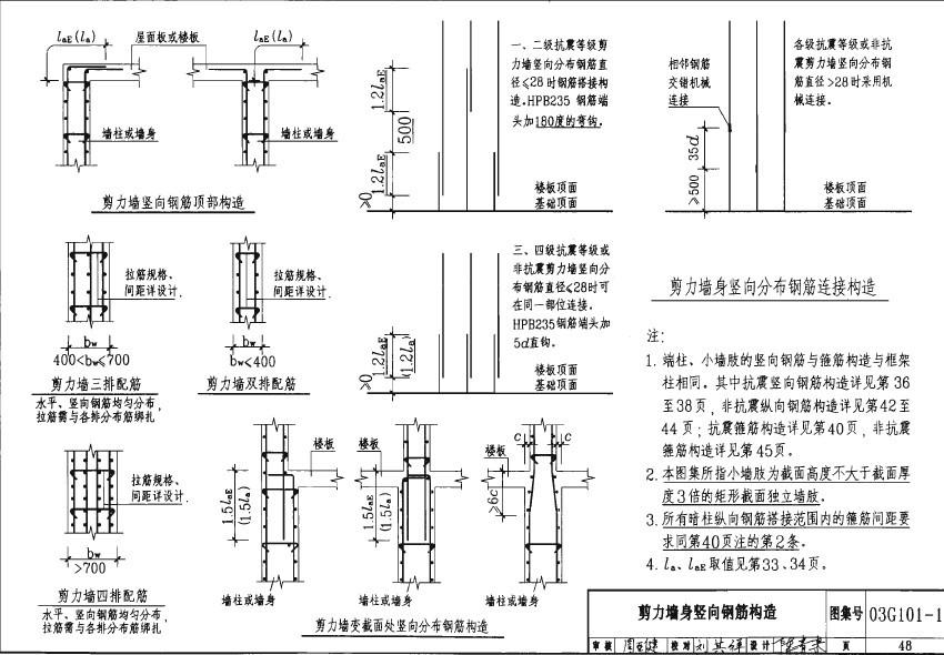 钢筋平法标注图集_钢筋平法图集03G101—1-