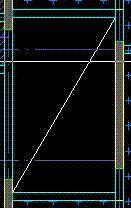 CAD图中板筋白底变成板代表的是意思?-2013cad图缩略分割怎么斜线图片