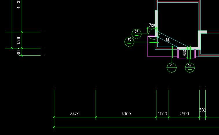 CAD图里没有轴号,识别轴网啊!对图纸现场蘑菇图片