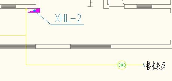 图例中算量的话水泵那到接图纸房那段要算图纸怎么管井建筑标注图片